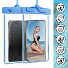 Underwater Waterproof Phone Pouch Float Swim Touchscreen Fit For 7 Inch Dry Bag