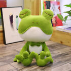 Cute Stuffed Animal Plush Soft Toy Frog Cuddly Pillow Doll Kids Bedtime Gifts UK