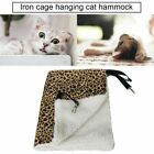 Warm Hanging Cat Bed Mat Soft Cat Hammock Hammock Pet Cage Bed Cover Cushion