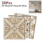 20xkitchen Tile Stickers Bathroom Mosaic Sticker Self-adhesive Wall Home Decors