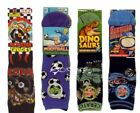 6 Pairs Boys Design Cotton Socks All Sizes 5 Designs