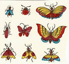 Ceramic Decals Butterfly Butterflies & Bugs Animal Bits image