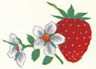 Ceramic Decals Strawberry Fruit Floral Flower Strawberries image