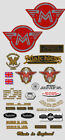 1963-69: Matchless Singles -RESTORERS DECAL SET-Decals
