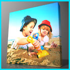 "YOUR PHOTO ON CANVAS FRAMED IN 8X8"" TO 40X40"" WALL DECO"