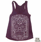 Womens DAY OF THE DEAD Tri-Blend american apparel S M L