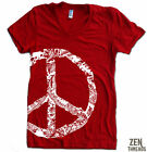Women's PEACE SIGN t shirt american apparel S M L XL