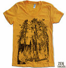 Womens REDWOODS tree t shirt american apparel S M L XL