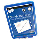 12 x  Magnetic Dry Wipe White Board Memo BULK WHOLESALE