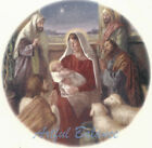 Ceramic Decals Christmas Holiday Nativity Scene B
