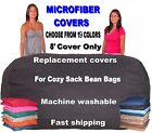 Bean Bag Chair Cover Factory Direct Cozy Sack Store Fits 8' XL Cozy Sack Beanbag