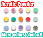 Cover Pure / Glitter Color Acrylic Powder Nail Art Tips Powder Builder 3D Nail