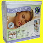 PROTECT-A-BED PREMIUM WATERPROOF MEMORY FOAM MATTRESS COVER, FREE SHIPPING!