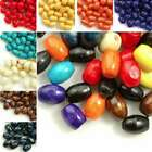 Wholesale 690pcs wooden beads 6x4mm rice choose from 8 colours free ship