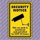 150x200 CCTV 24hrs in Car Park Security Sign (1187)