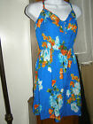 Hollister Womens Tropical Sun Dress No Sleeve 2 styles  L NEW to $49
