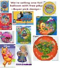 Foil Balloon Peanut Snoopy Barbie Barney Tweeny Thomas The Tank Engine Free P&P