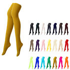 [Mustard Color] Opaque Womens Pantyhose Stockings Tights Leggings Colour