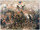 Decor Battle Field Poster. Fine Graphic Art. War scene. Home Wall Design 1285
