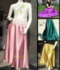 100% Silk Skirt Full Circle Long Skirt 38 inches Length  XS S M L XL XXL 3XL