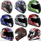 KBC VR1-X VR1X FIBRECOMP MOTORCYCLE MOTORBIKE BIKE SPORTS TOURING SCOOTER HELMET