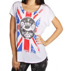 TOKIDOKI God Save the Queen T-SHIRT White TEE S M NEW