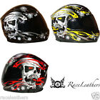 VIPER TROJAN SKULL RS-44  MOTORCYCLE MOTORBIKE SCOOTER BIKE HELMET - CLEARANCE