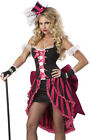 Sexy Womens French Can Can Dancer Fancy Dress Halloween Costume