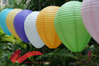 "12""/30CM Olive-Shaped Paper Lantern Wedding Party Home Decor(Pack Of 6)"
