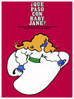 Que Paso con baby Jane? movie Decoration Poster.Graphic Art Interior Design 3038