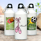 personalized hockey water bottles - PERSONALIZED WATER BOTTLE - SPORTS FOR KIDS! DANCE - BALL - HOCKEY - MORE! LOOK!