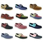 New Ladies Yachtsman Nubuck Leather Lace Up Deck Boat Shoes Sizes UK 4 5 6 7 8