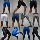 Mens Compression Under Base Layers Gear Skin Shorts Long Pants Tights Leggings