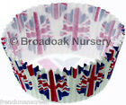 UNION JACK FLAG CELEBRATION CASES Various Sizes Fairy Cup Cake Bun Muffin Baking