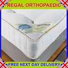 DELUXE BEDS 10 INCH DEEP REGAL FIRM ORTHOPAEDIC MATTRESS IN 6FT,5FT,4FT6,4FT,3FT