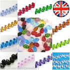 120 Crystal glass Teardrop beads 9x6mm Choose colour