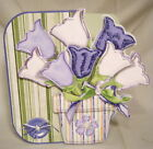 Handmade Greeting Card - 3D Tulip Shaped  Multi-purpose Note Card