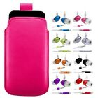 L- HOT PINK PULL TAB POUCH CASE COVER + HANDS FREE HEADSET fOr Nokia N97 Mini
