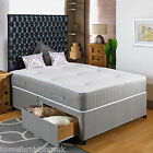 "*NEW* 4ft SMALL DOUBLE Divan Bed Visco +10"" Memory Foam Mattress + HEADBOARD"