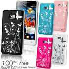 NEW STYLISH BUTTERFLY SERIES CASE FITS SAMSUNG GALAXY S2 I9100 SCREEN PROTECTOR