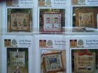Little House Needleworks-2011  Holiday Ornaments #1-12