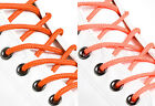 ROUND ORANGE SHOE LACES LONG SHOELACES - 3mm wide - 11 LENGTHS - 2 SHADES