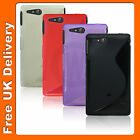 New S Line Case Skin Cover For Sony Ericssion Xperia go ST27i UK