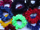 #2 HAIR SCRUNCHIE VELVET School Dance Gymnastics Cheer Multi Colour Options