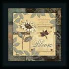 Bloom Beauty of the Lord Psalms Dragonfly Print Framed