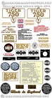 1973-75: Tiger 750cc twin -RESTORERS DECAL SETS - Triumph TR7 Tiger Decals $34.8 USD on eBay