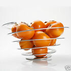 Poing Large Spiral Fruit Bowl Decorative Centerpiece Contemporary Design OTOTO