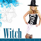 Adult Halloween Party Witch Fancy Dress Costume Party Hens Night Outfit ZT8235