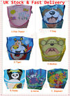 Lovely Design Waterproof Baby/Toddler Catch-All Folding Pocket Bibs -- 7 Designs