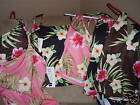BAREFOOT MISS Floral Tankini or Halter Swim Top Choice 24W 14T 16 18W 8 18T NWT